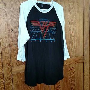 Van Halen Concert T-Shirt New! God Bless Eddie! XL